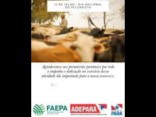 Embedded thumbnail for Dia Nacional do Pecuarista